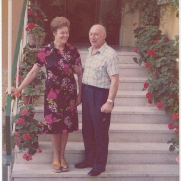 1976 - Caterina and Arturo Frassine